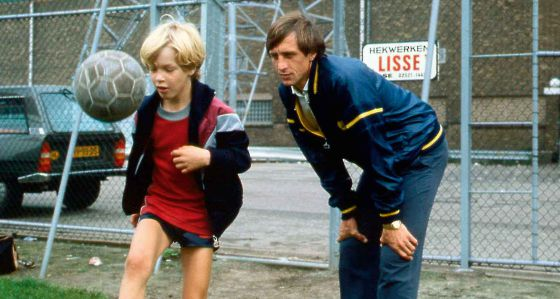 Johan Cruyff y Jordi Cruyff